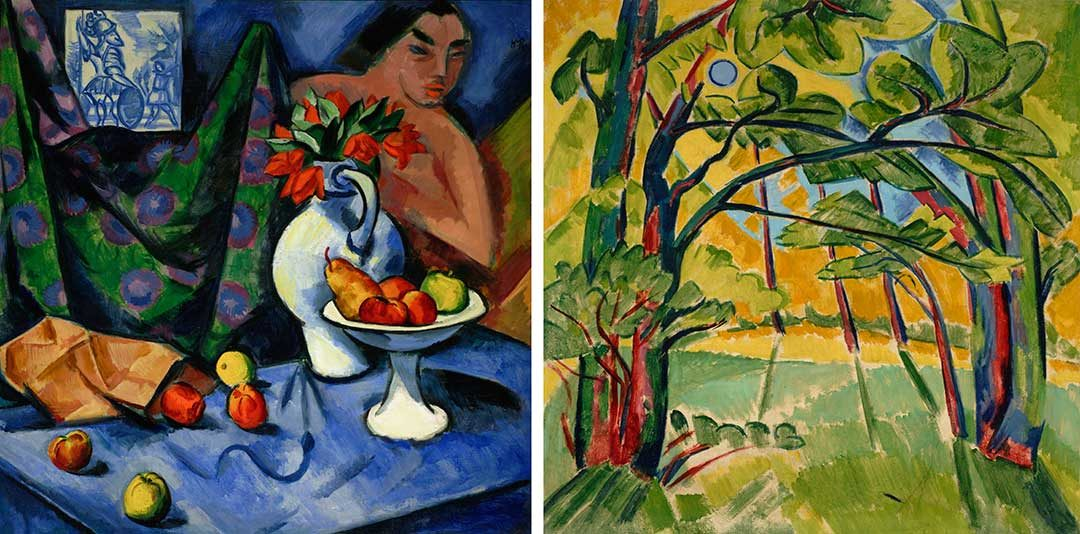 Paradise Lost: A Double-Sided Mystery by Max Pechstein