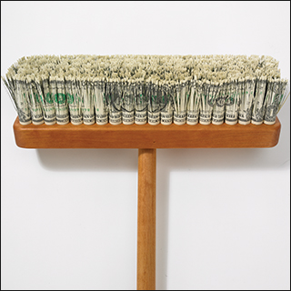 Very expensive push broom.