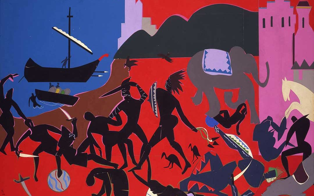 Romare Bearden A Black Odyssey At The Currier Museum Of Art - Romare-bearden-coloring-pages