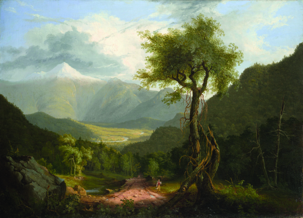Thomas Cole painting.